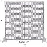 """8""""x10"""" Smart Link da cadeia pesada Infilled Malha 57mmx57mm x 3,00mm painéis da Barragem de construção"""