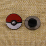 Hot Sale Fashion Enamel Metal Pokemon Pokeball Pins