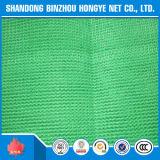 Rede de segurança feita malha da construção do andaime HDPE verde
