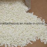 EVA blanca de secado rápido de adhesivo termofusible para manejar la bolsa de papel