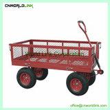 قوّيّة عجلات معدن يطوي عربة [غردن توول] فناء حامل متحرّك