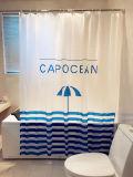목욕탕을%s 대양 작풍 PEVA 샤워 커튼