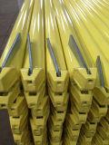 Jaune de registre d'échafaudage de système de Ringlock peint/qualité enduite de poudre