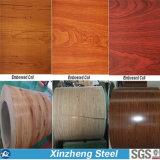 Bobina d'acciaio galvanizzata preverniciata di PPGI/PPGI con colore di legno