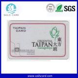 Cartão Inteligente Transparente, Cartão de Visita Contato RFID Sem Contato