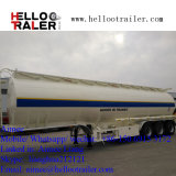 Koolstofstaal van de As van de Aanhangwagen van Helloo het Tri33000 Van de Stookolie van de Tanker Liter Aanhangwagen van de Vrachtwagen van de Semi