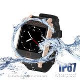 IP67は心拍数および血圧のGPSの腕時計の追跡者を防水する