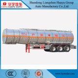 Huile/carburant d'alliage d'aluminium/réservoir de stockage de pétrole d'essence/de camion-citerne remorque semi
