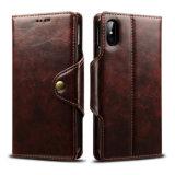 Ретро-PU мобильного телефона Wallet чехол для iPhone X