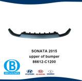 A Sonata 2015 86612 superior de pára-choques dianteiro-C1000