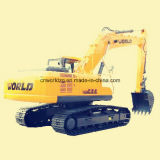 La marca mundial de la excavadora 320 con motor Isuzu
