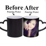 Personnaliser la sublimation la tasse Magic Mug Mug promotionnel en céramique de changement de couleur