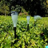 Lámpara ligera moderna accionada solar decorativa IP65 del jardín