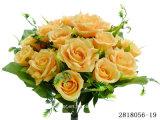 Künstliche/Plastic/Silk Blume Rosenbusch (2818056-19)