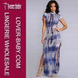 Se acepta Paypal Wholesale Dama vestido largo (L51278-1)