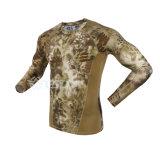 La nueva ropa interior termal del Mens de Camo se adapta a la ropa interior de Esdy caliente