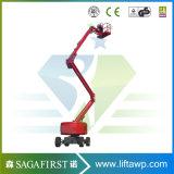 levage aérien de boum de levage de position de levage électrique hydraulique d'homme de 6m à de 14m