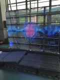 P15.625 ventana transparente LED de visualización / Edificio Video Wall