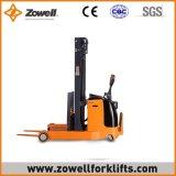 Apilador eléctrico del alcance con 1.5 altura de elevación de la capacidad de carga de la tonelada 3.5m