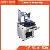 soldador Desktop do varredor de laser da entrega da fibra do CCD da jóia 300W