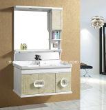 Singolo Governo di stanza da bagno di vanità/PVC della stanza da bagno del PVC del dispersore