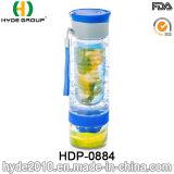 2016 la vendita calda Tritan BPA libera la bottiglia di infusione della frutta, la bottiglia di plastica di infusione della frutta (HDP-0884)