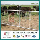 Frontière de sécurité galvanisée d'animal de panneau de frontière de sécurité de gisement de frontière de sécurité de cheval de pipe