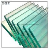 Het duidelijke Glas van de Balustrade van het Glas van de Bouw van het Glas van de Vlotter van het Glas van Sgt