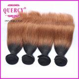 Уток волос цвета Omber горячего сбывания 2016 бразильский, человеческие волосы девственницы дюйма 8-32 естественные