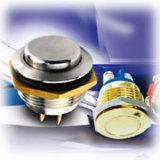 3A 250VAC, Illuminated gold Non-Illuminated Pushbutton Switch