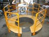 Échelles de fibre de verre et balustrade, semelle d'escalier de Fiberlgass, système de balustrade de FRP