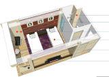 プレハブの20FT平らな容器のホテル