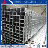 Экспорт стандартов Pre-Galvanized стальная труба прямоугольного сечения