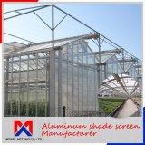 Red de aluminio del paño de pantalla de la cortina de la cortina de la tarifa de la cortina del 80% para el invernadero