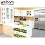 Welbom hölzerner modularer Küche-Schrank