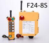 2개의 전송기 8 채널 통신로 호이스트 기중기 라디오 원격 제어 시스템