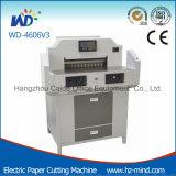 Cortadora eléctrica del papel del Programa-Control del fabricante profesional (WD-4606V3)
