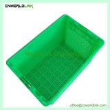 Fabrico superior de plástico de fruta fresca comida PP Engradado ventilada