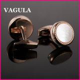 Mancuernas L52500 de las camisas del oro de VAGULA Rose