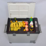 Переносной Автомобильный Компрессор холодильника 52л DC12/24V с адаптером переменного тока (100-240 В) для использования вне помещений с помощью