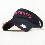 Casquillo de Sun del béisbol/visera modificados para requisitos particulares, sombrero de Sun de los deportes
