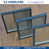 Glace enduite dure isolante en verre Tempered E de double de sécurité dans la construction en verre inférieur de l'argent