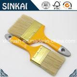 Weißes Bristle Paint Brush mit Varnished Wooden Handle