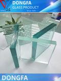 Transmitância elevada Starphire Vidro Temperado Esg para edifício de design moderno