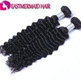 Евразийский глубокую волнистых волос человека Vigin природного сырья волос человека