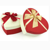 Het stijve Vakje van de Gift van de Verpakking van de Chocolade van de Vorm van het Hart van het Karton van het Document