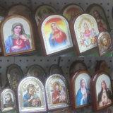 دينيّ أيقون صورة إطار, صور كاثوليكيّة, إطار دينيّ ([إيو-ك090])