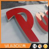 Publicidade exterior Placa de sinalização de acrílico