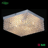 贅沢な方法大きいLED水晶天井ランプの天井の照明