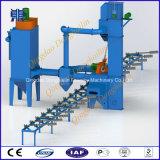 Tondo per cemento armato attraverso tipo prezzo della macchina di granigliatura/artificiere del colpo da vendere dal fornitore di Qingdao